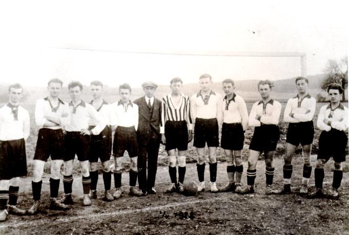 1928 1A mužstvo fotbalistů SK Vrané