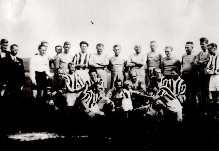 1938 Internacionálové a SK Vrané1