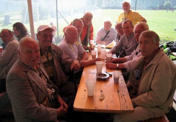Oslava 85 let klubu - kluboví pamětníci